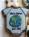 Earth Day Baby Cookies