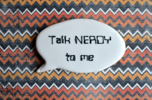 Talk Nerdy to Me Valentine's Day Cookie - Not Your Everyday Cookie