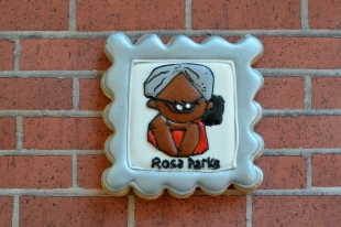 Rosa Parks Cookie ~ Not Your Everyday Cookie