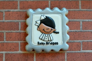 Ruby Bridges Cookie ~ Not Your Everyday Cookie
