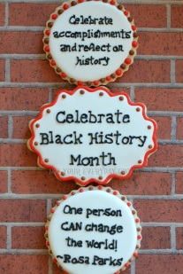 Black History Month Cookies~ Not Your Everyday Cookie