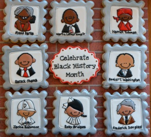 Black History Month Cookies ~ Not Your Everyday Cookie