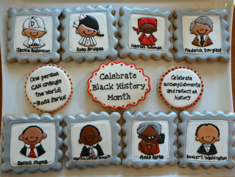 Black History Month Cookies Not Your Everyday Cookie